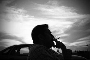 A Man with Cigarette by OnurKorpeoglu