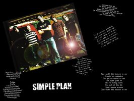Simple Plan Wallpaper by linkinDarkShadow