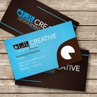 business card mockup by slayyou2