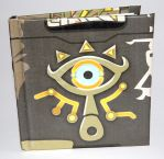 The Legend of Zelda Sheikah Slate Notebook by knil-maloon