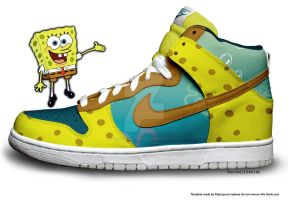Spongebob Nike by RachaelLoraine