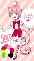 [CLOSED!!!] Pink!Shota!Cat by Serpenfire