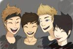 5 Seconds of Summer by Wolflover-101