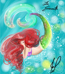 The little mermaid sweet dream Ariel by JamilSC11