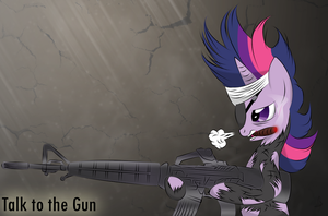 Talk to the Gun by V-D-K