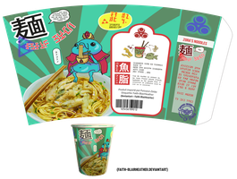 hyrule Market: Zora noodles! by Faith-Blairheather