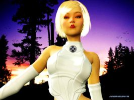 Emma Frost THE WHITE QUEEN by LordFreeza