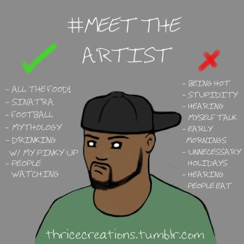 Meet the Artist by ThriceLW