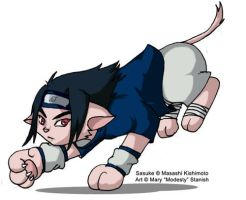 Sasuke Kitty by modesty