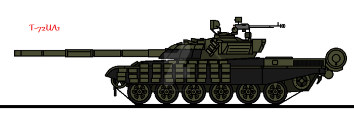T-72UA1 by thesketchydude13