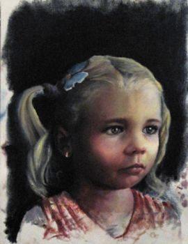 Small Oil Painting of Sofia by Engy27