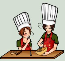 APH: Cooking by Lazy-Pineapple