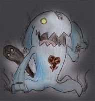 Wobbuffet Heartless by Night-Owl8