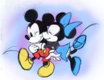 Minnie x Mickey by mell0w-m1nded