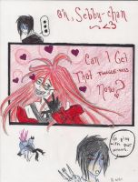 Grell Wants One Thing.... by furya21