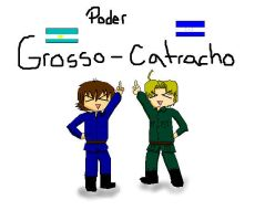 Poder Grosso-Catracho by AkaiHanon
