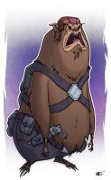 chewbacca re design by HEROBOY