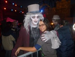 Another picture of me and Dr. Fright by spottedparr