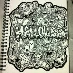 Full Page Doodle- Halloween Themed by gutterface