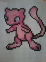 Mew Pixel by sonadow4ever98