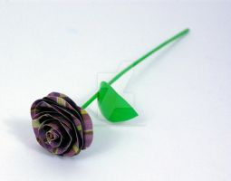 Duct Tape Rose- For Sale by DuckTapeBandit