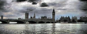 London Downtown by Damir-Olejar
