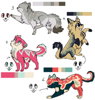 Cat Adopt Batch. by Anni-Adoptables