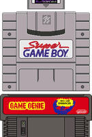 Super Game Boy Genie by BLUEamnesiac