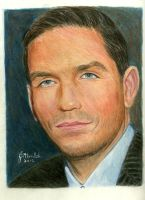 James Caviezel, John Reese on PERSON OF INTEREST by Jojemo