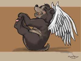 Angel Bear by GuardianDragon1