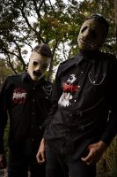 Slipknot Cosplay - Corey and Chris by Hexalot
