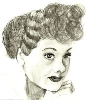 Lucille Ball by GretchElise