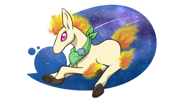 Flair the Ponyta -pkmnation by Brierose