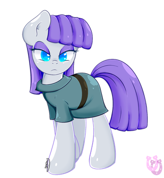 Maud Pie by shadowhulk