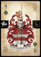 ToT Card Game FOX COAT of ARMS by FranciscoETCHART