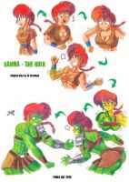 Ranma_She Hulk by locofuria