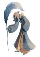 Character design : Archiviste by grainesDeSeL