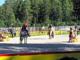 Jousting Knights by whendt