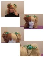 Green Bows by AngelicalDesign