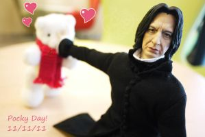 Pocky Day with Snape by ReminaTH