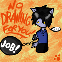 Nickowolf - No Drawing by nickowolf