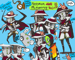 OC dump: Neeman McKenroy ref by Koolaid-Girl