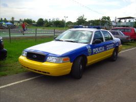 Puerto Rico State cop car by Mister-Lou
