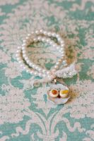Carrot and Banana Muffins Pearl Bracelet by MiniSinLove