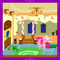 Pinkie's Quest -Sugar Cube Corner Lobby- by Zztfox