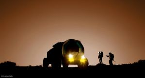Mars rover 02 by Ludo38