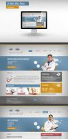 My 1st corporate webdesign by steweq