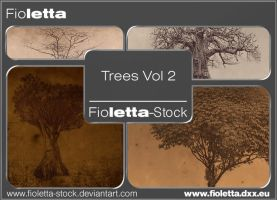 Trees Vol 2 Brushes by fioletta-stock