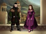 Dwalin and Lada by Lokiluv728