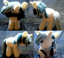 DJ PON3/Vinyl Scratch Filly II by Crowchet